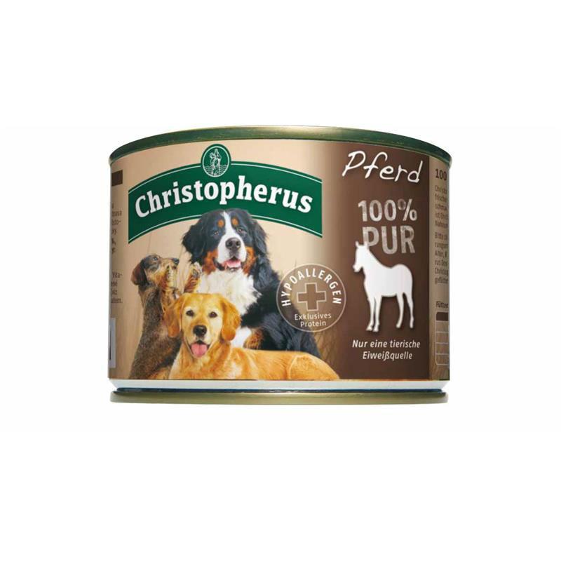 Christopherus 100% Pur Dosenfutter für Hunde, Bild 4