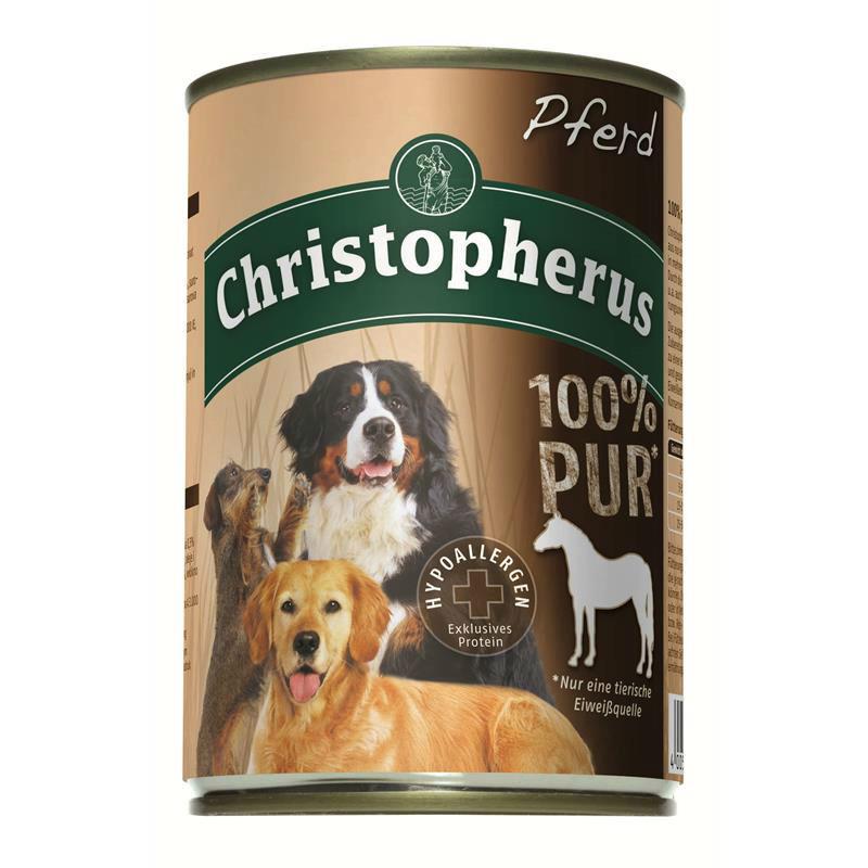 Christopherus 100% Pur Dosenfutter für Hunde, Bild 2