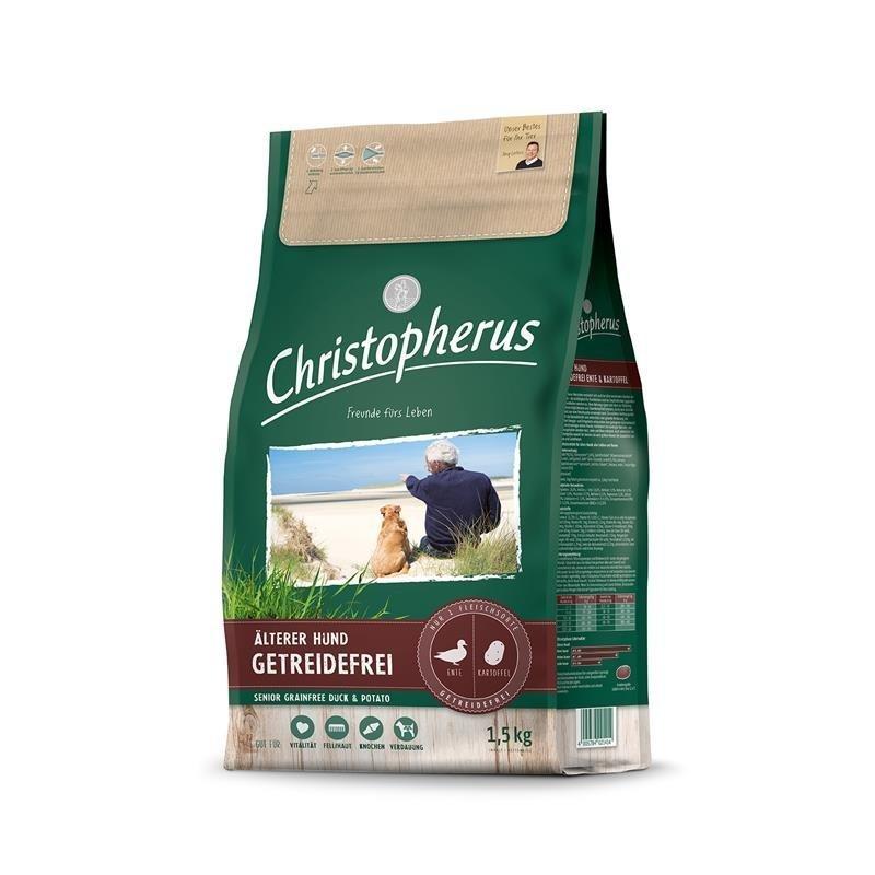 Christopherus Älterer Hund Ente + Kartoffel