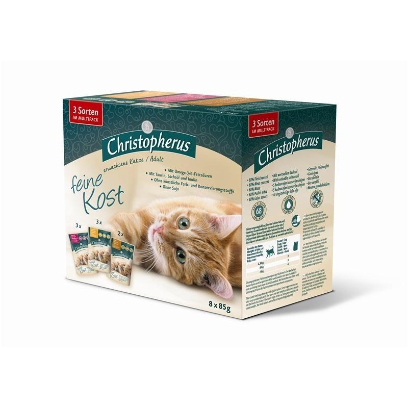 Christopherus feine Kost Katzenfutter Multipack