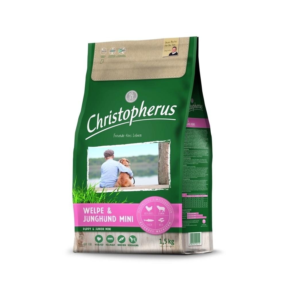 Christopherus für den Welpen & Junghund mini Hundefutter, Bild 2