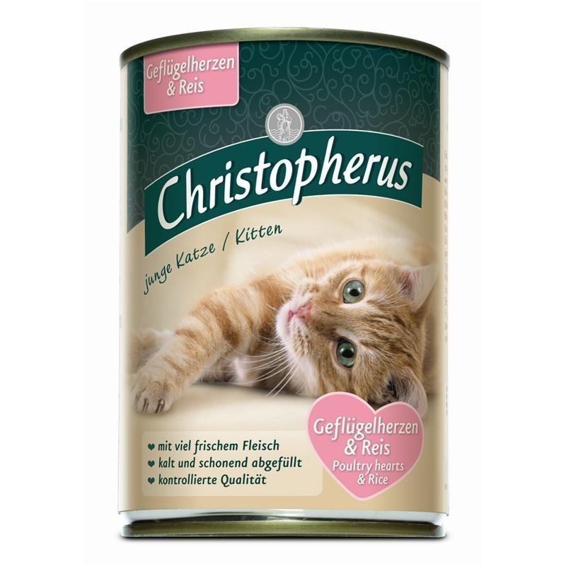 Christopherus Für die Junge Katze Katzenfutter, Bild 2
