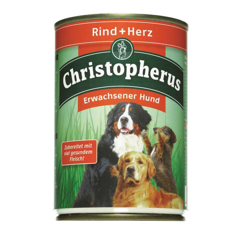 Christopherus Hundefutter Adult Dose, Bild 2