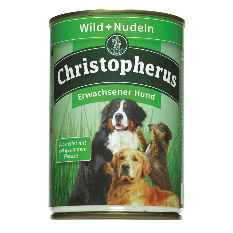 Christopherus Hundefutter Adult Dose
