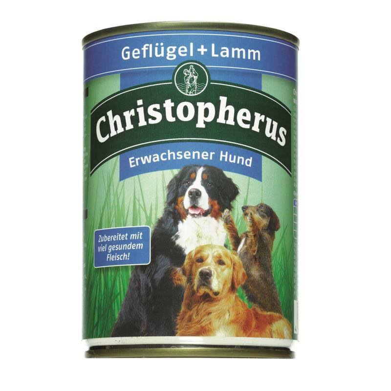 Christopherus Hundefutter Adult Dose, Bild 3