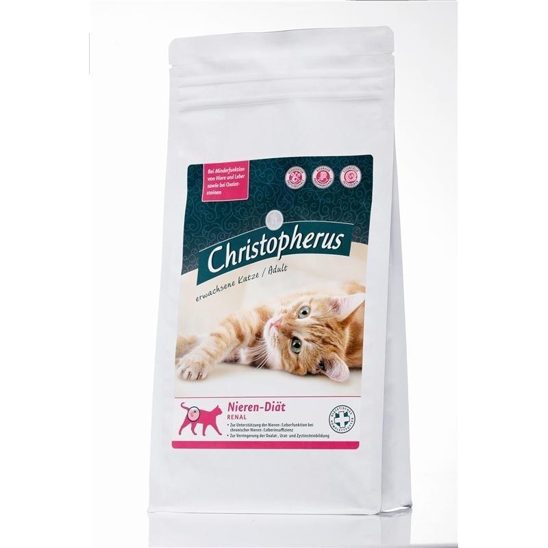Allco Christopherus Katze Nieren Diät Katzenfutter, 1 kg