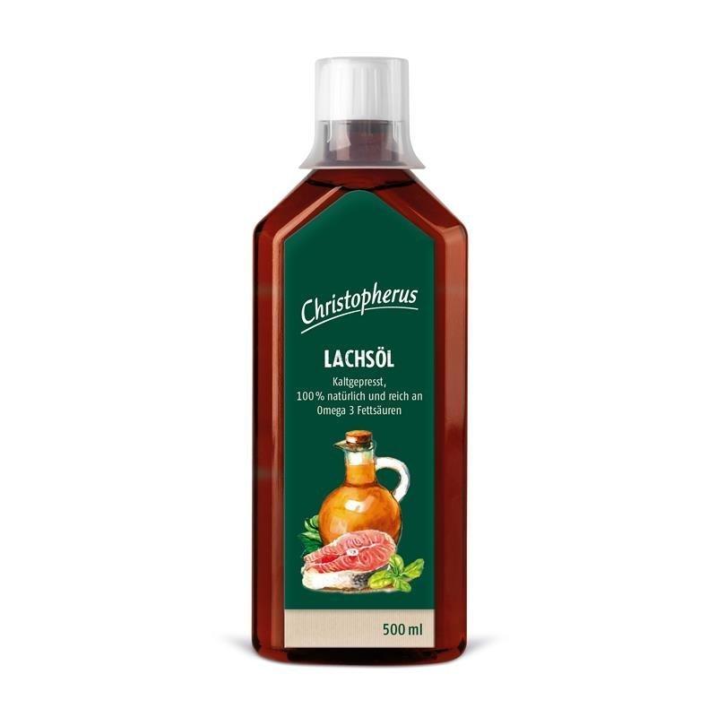 Allco Lachsöl kaltgepresst, 500 ml