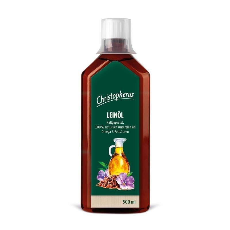 Allco Leinöl kaltgepresst, 500 ml