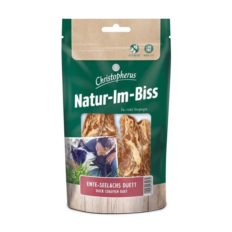 Allco Natur im Biss Kausnacks, Ente Seelachs Duett, 70 g