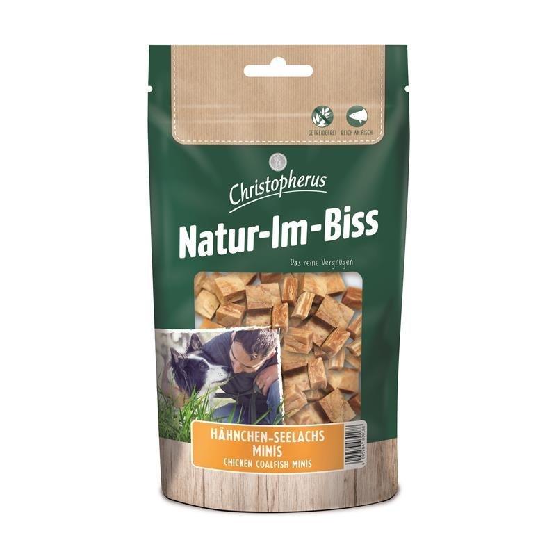 Allco Natur im Biss Minis, Hähnchen-Seelachs Minis, 70 g