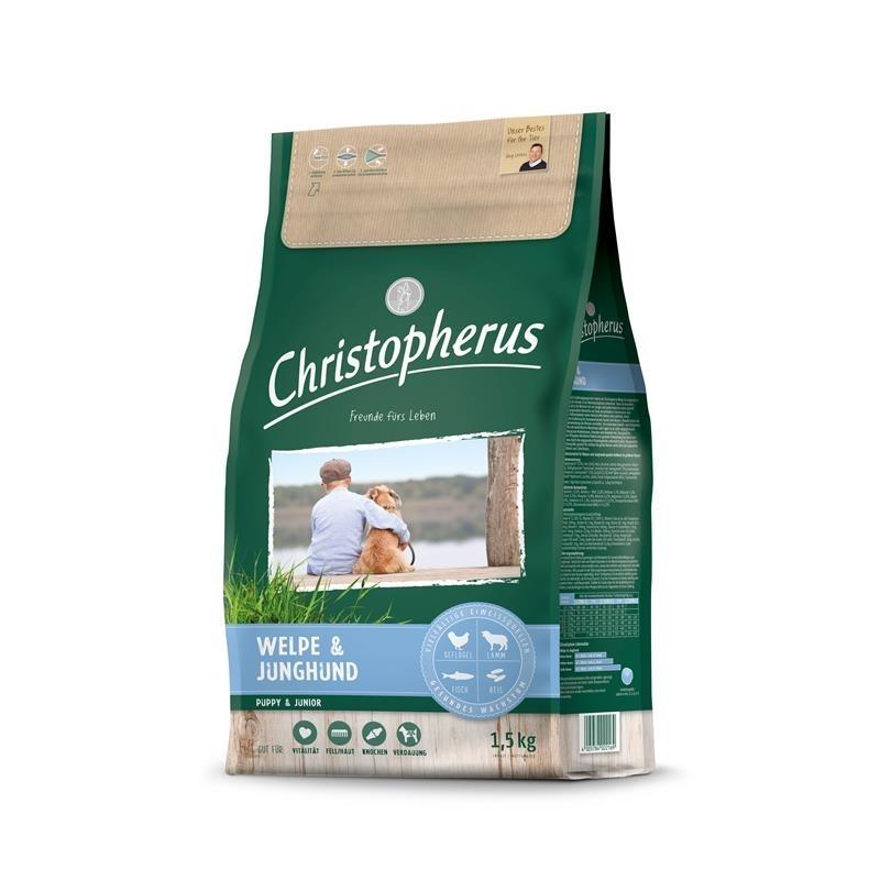 Christopherus Welpe & Junghund Hundefutter, 1,5kg