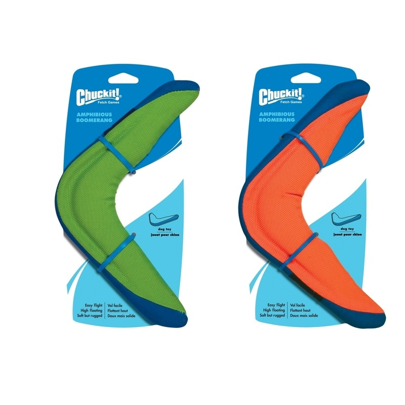 Chuckit! Amphibious Boomerang Hunde Bumerang, orange