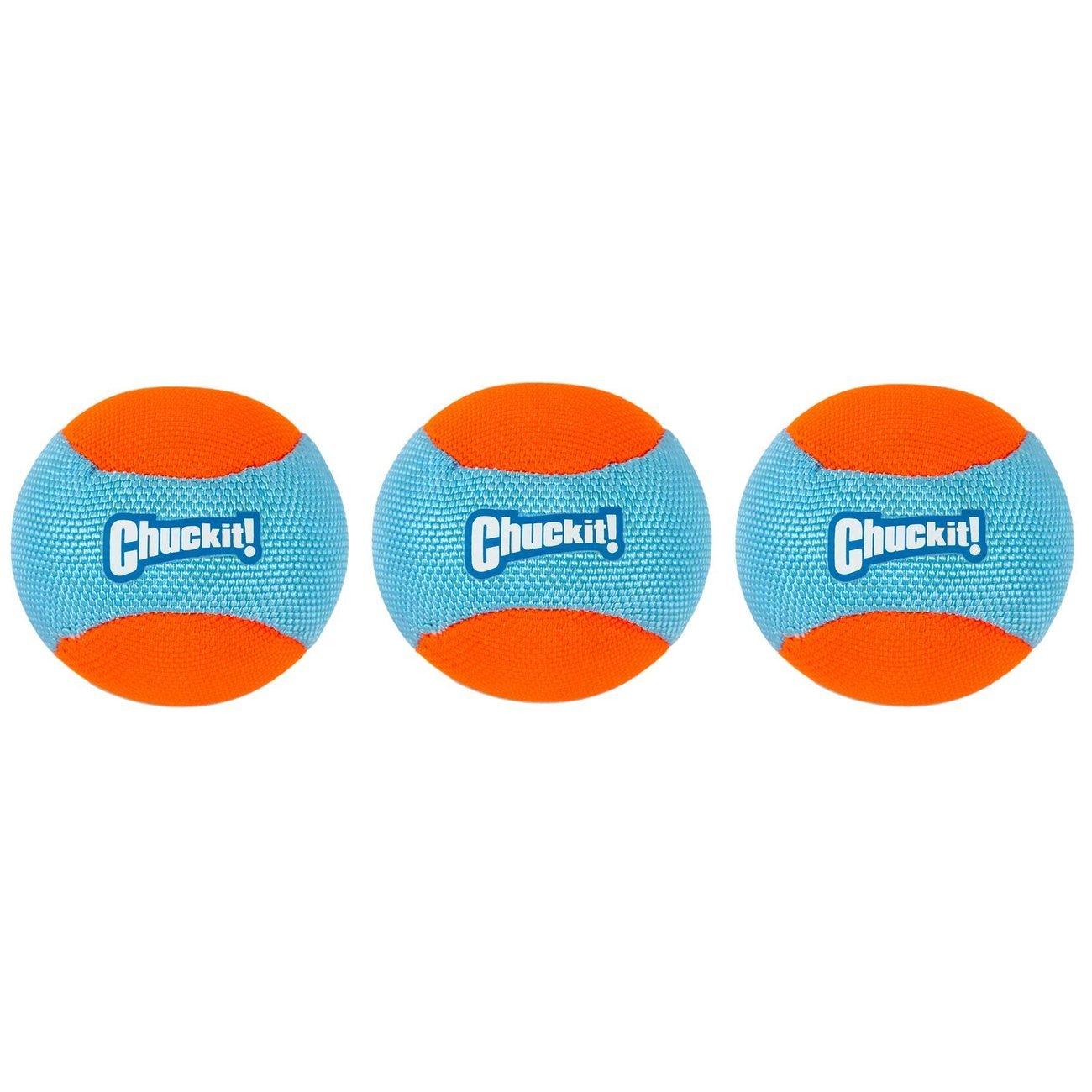 Chuckit! Amphibous Fetch Balls 3-Pack, 6,3 cm