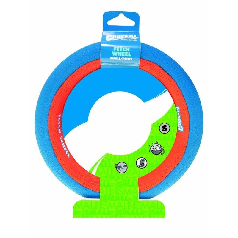 Chuckit Fetch Wheel Hundespielzeug, Small: Ø 20cm