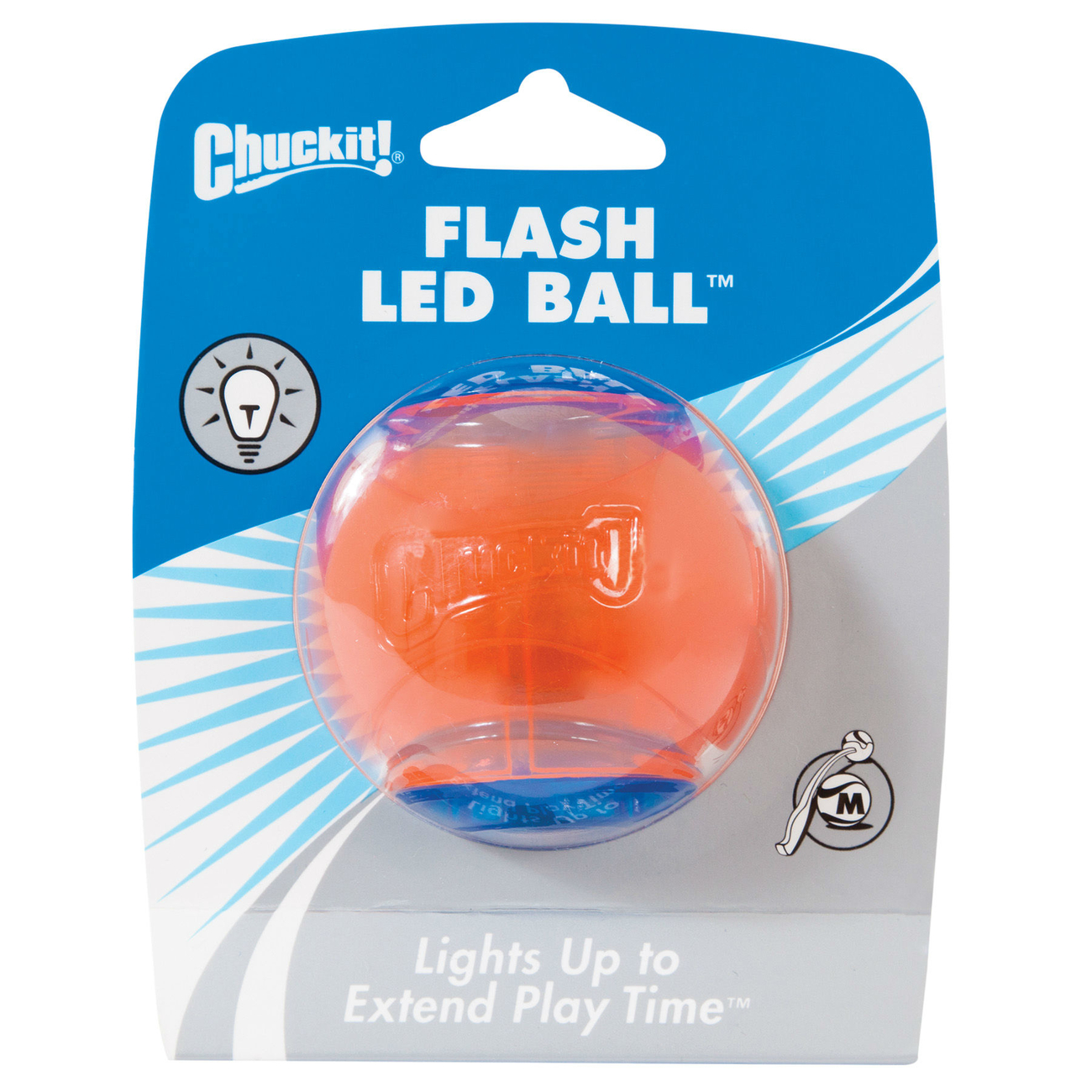 Chuckit! Flash LED Ball, Bild 2