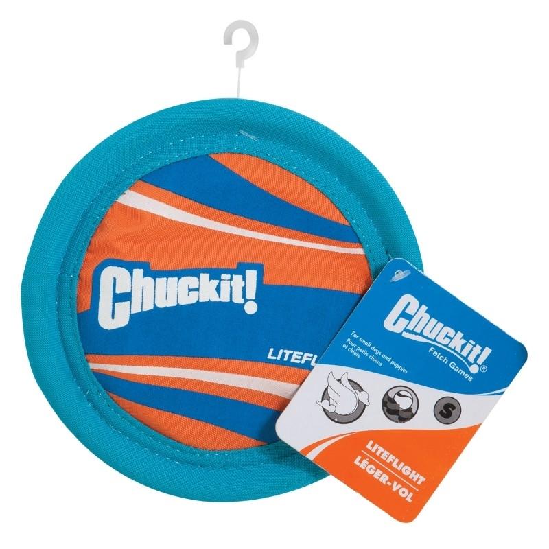 Chuckit Liteflight Hundefrisbee, Small 17,5 cm
