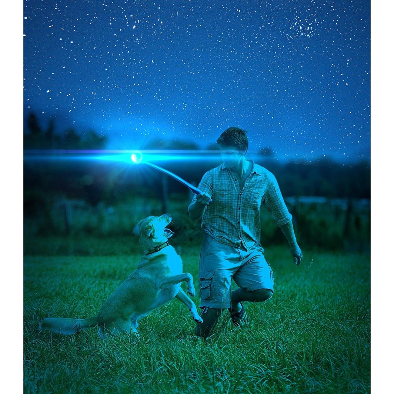 Chuckit Max Glow Ball für Hunde Ballschleuder, Bild 8