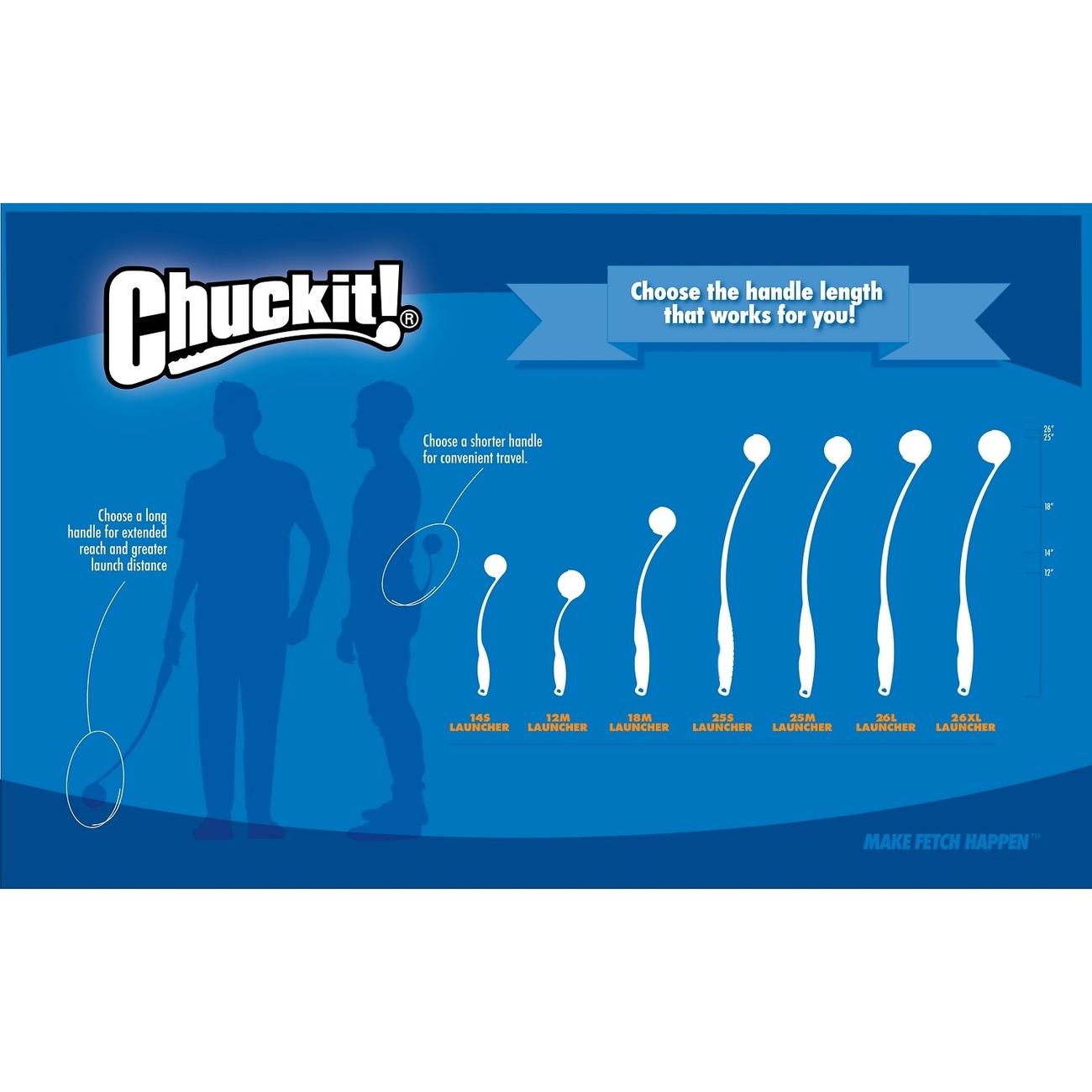 Chuckit Sport Ball Launcher Ballschleuder für Hunde, Bild 14