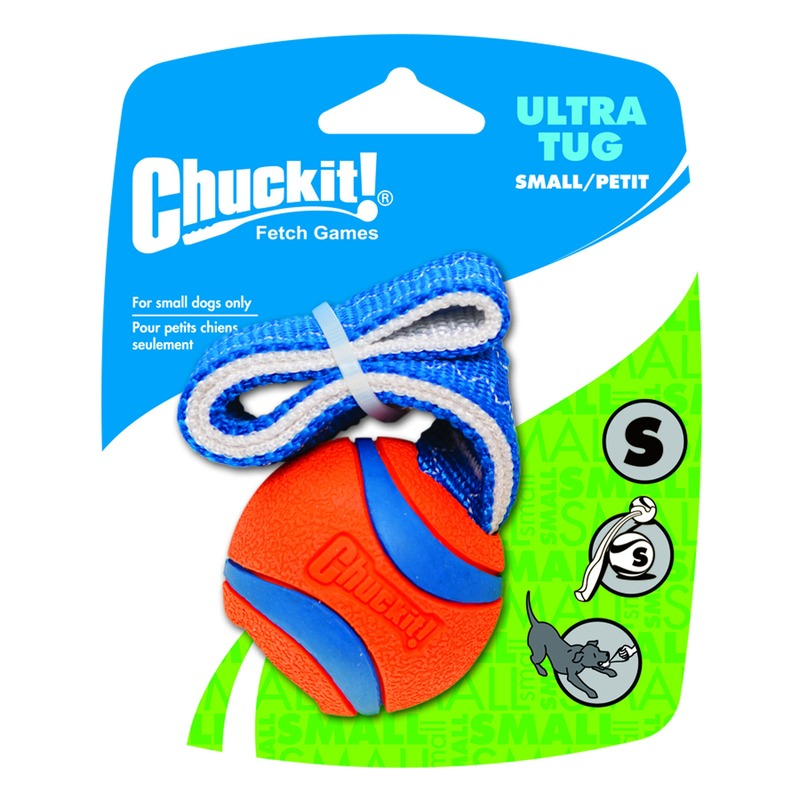 Chuckit Ultra Tug Ball mit Band
