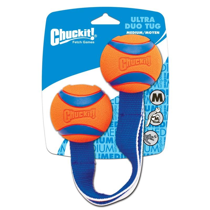 Chuckit Ultra Tug Duo Hundespielzeug, Small, 5 cm