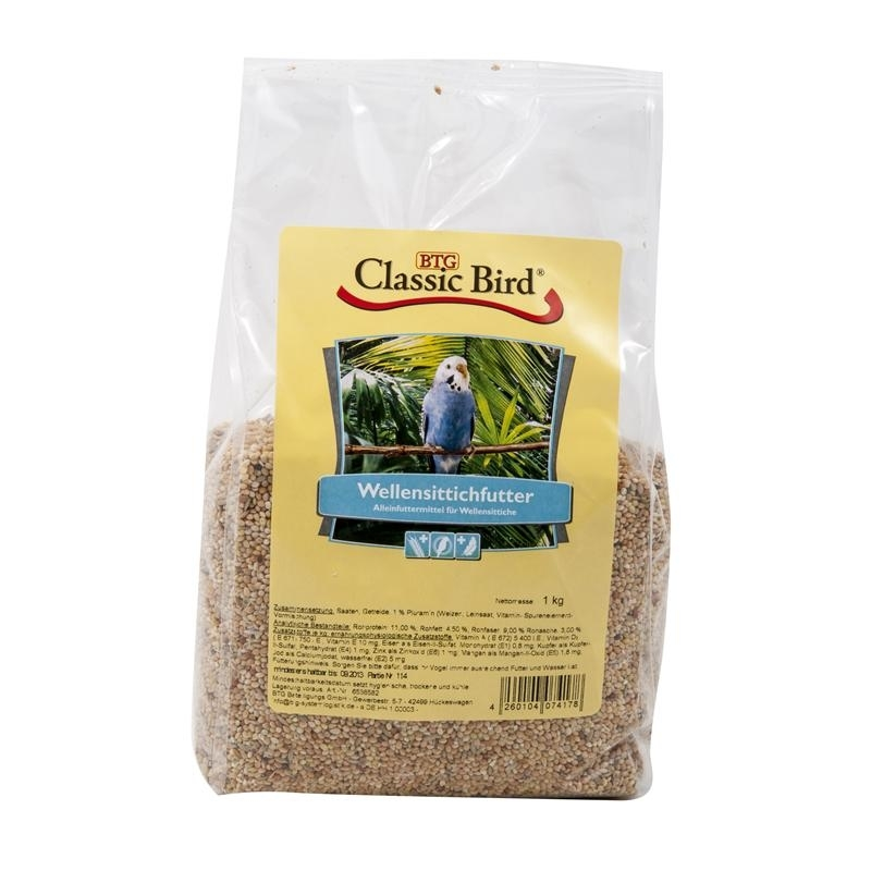 Classic Bird Wellensittichfutter, 1 kg