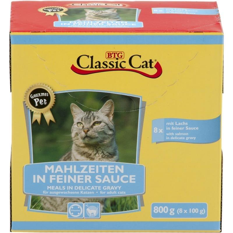 Classic Cat Mahlzeit in feiner Sauce Katzenfutter