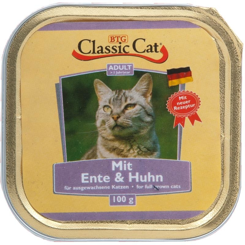 Classic Cat Schale Katzenfutter