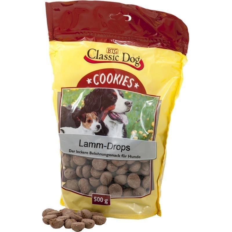 Classic Dog Cookies Lamm-Drops, 500g