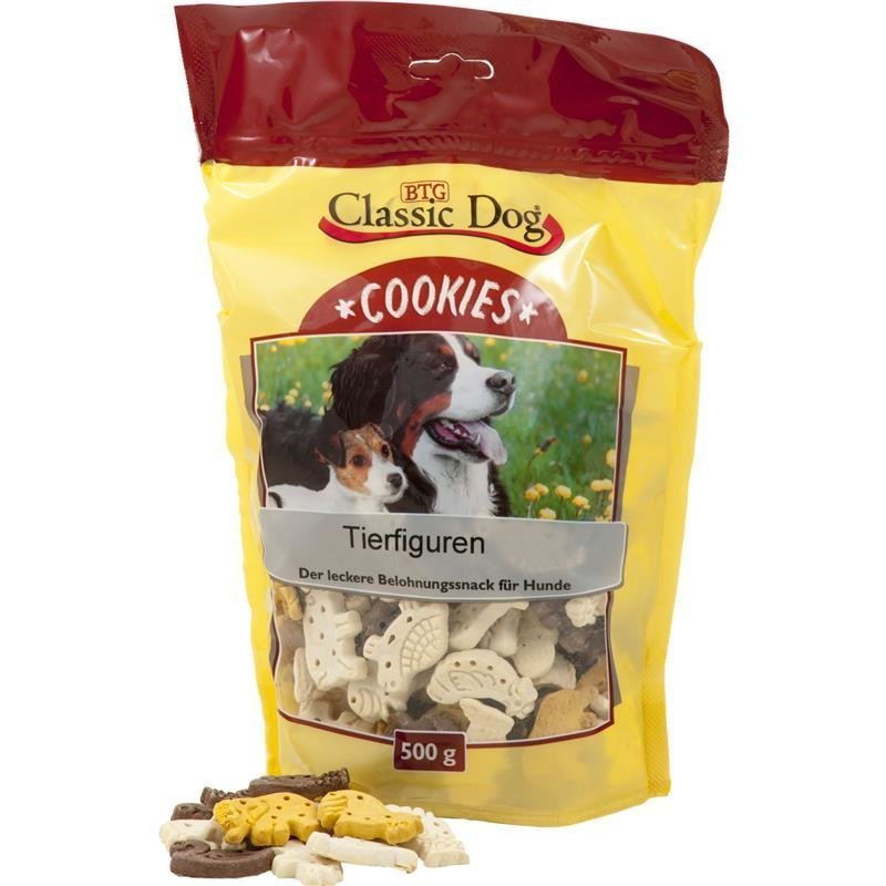 Classic Dog Cookies Tierfiguren, 500g