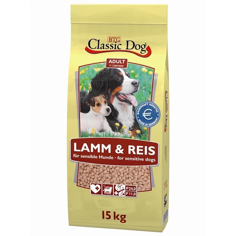 Classic Dog Lamm & Reis Hundefutter