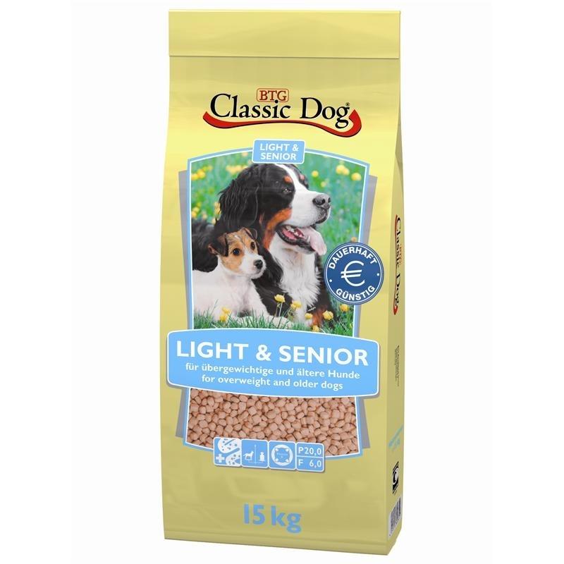 Classic Dog Light & Senior Hundefutter