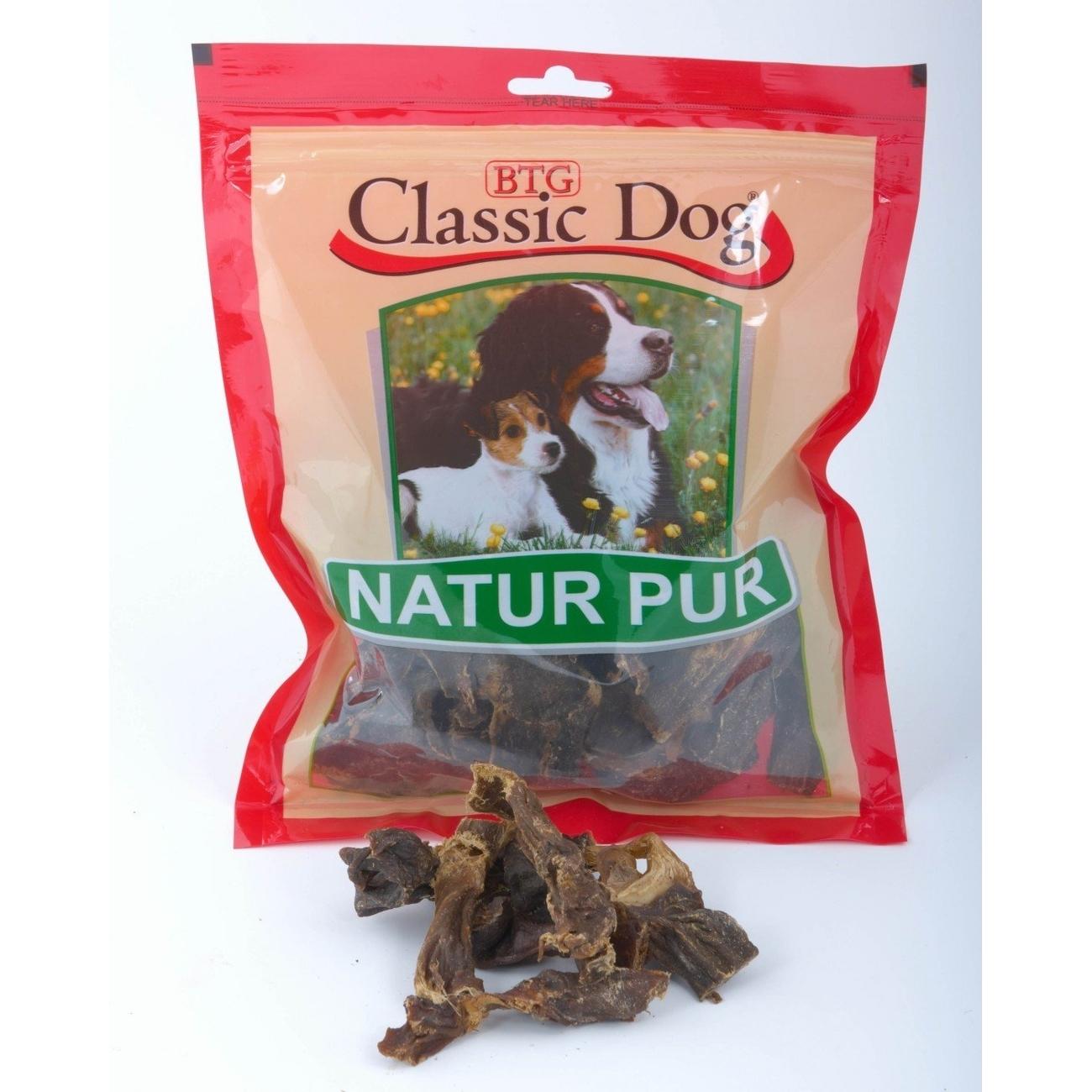 Classic Dog Rinderherzen Hunde Kauartikel, 100g