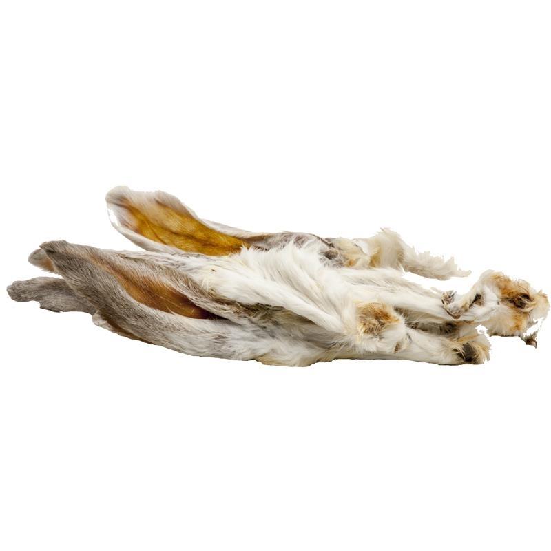 Classic Dog Snack Kaninchenohren mit Fell
