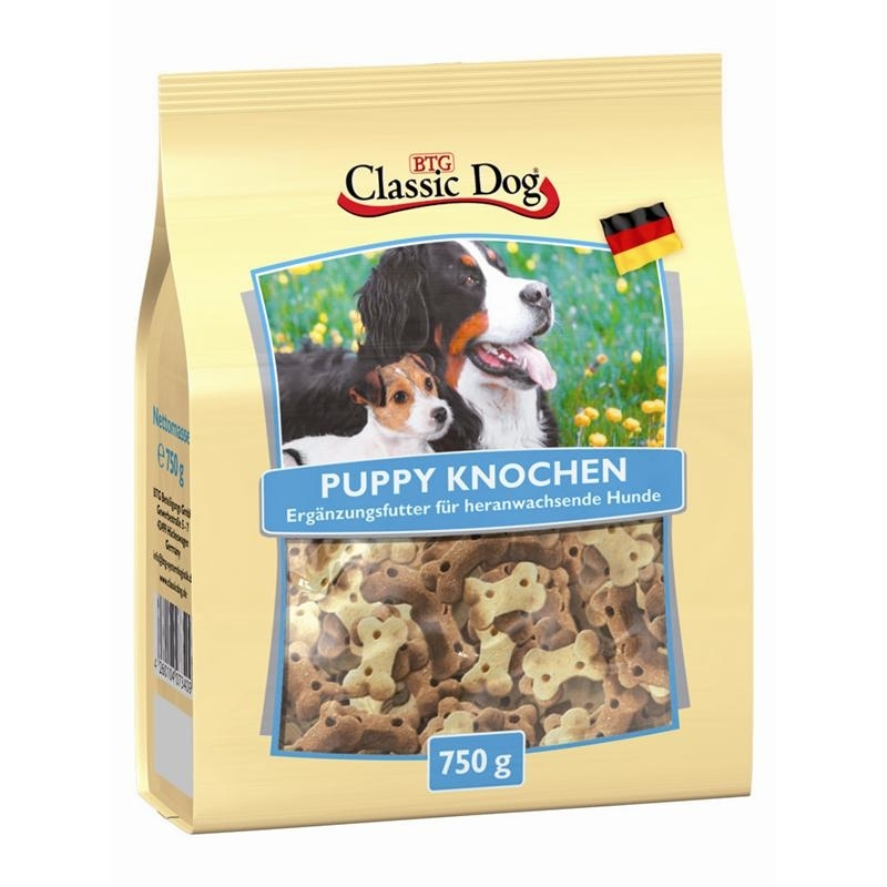 Classic Dog Snack Puppy Knochen, Bild 2