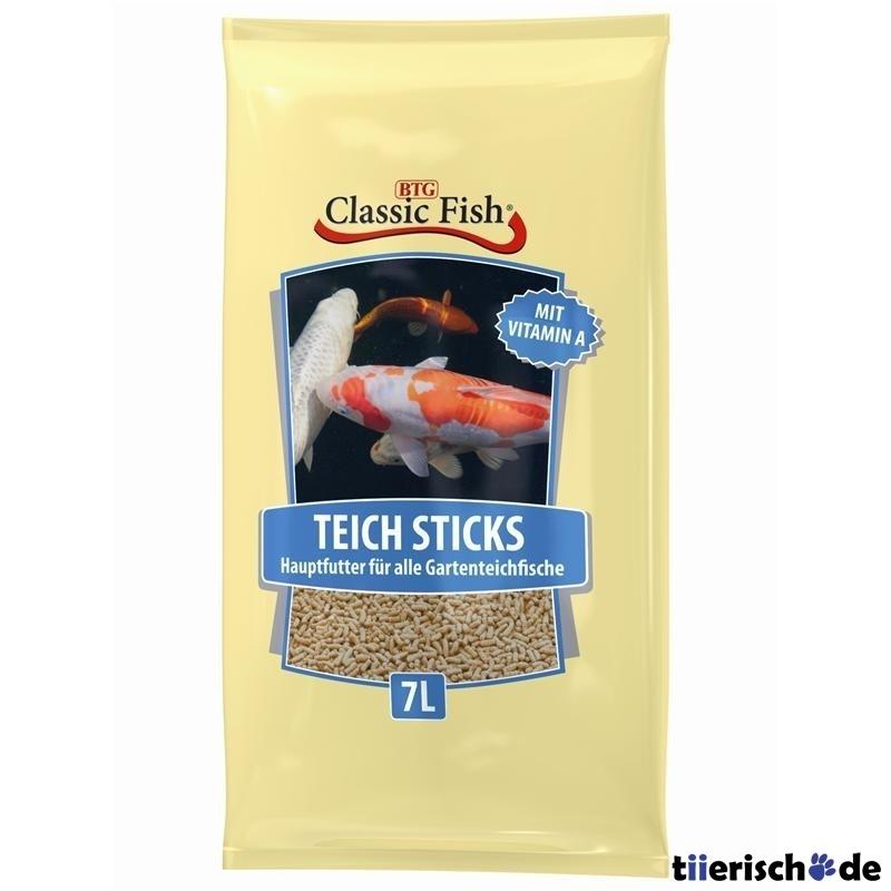 Classic Fish Teichsticks 7ltr Beutel Preview Image