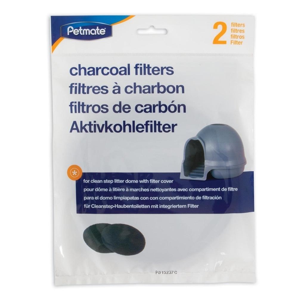 Petmate Cleanstep Filter für Katzentoilette, 2 Stück