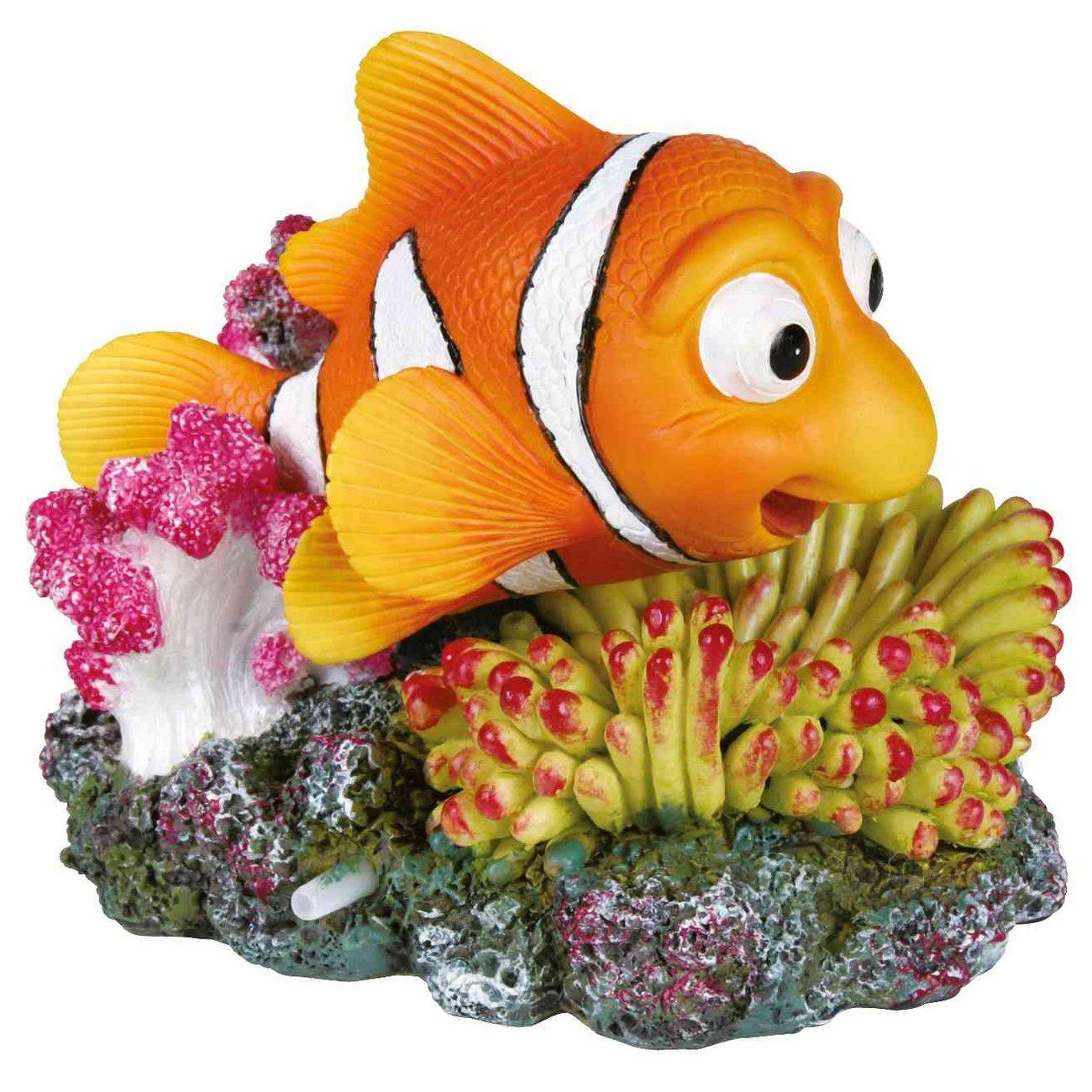 Trixie Clownfisch für Aquarium mit Luftpumpenanschluss, 12×10cm