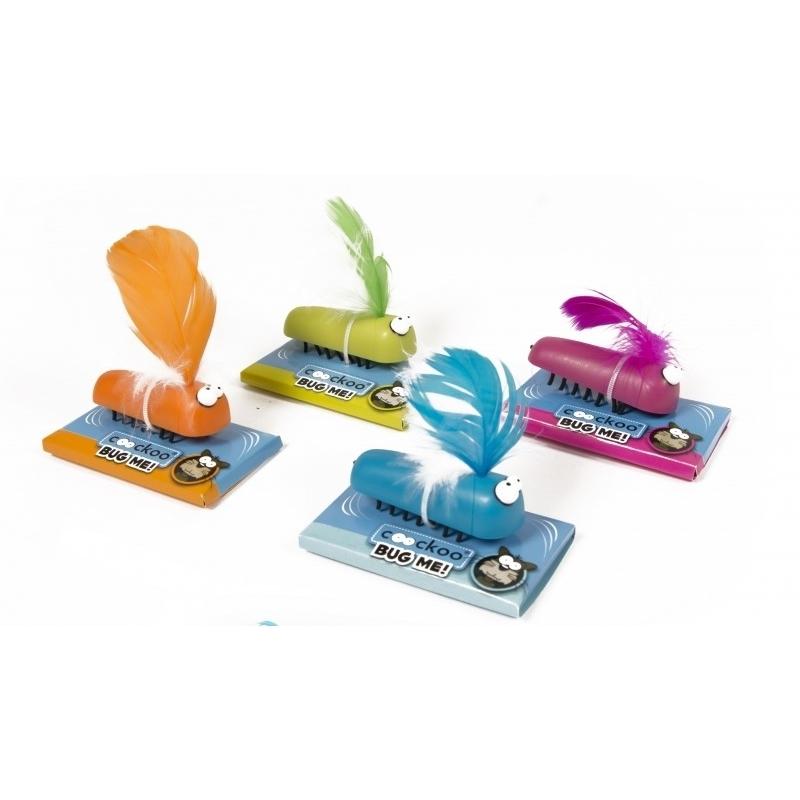 Coockoo Bug-Me, das interaktive Katzenspielzeug