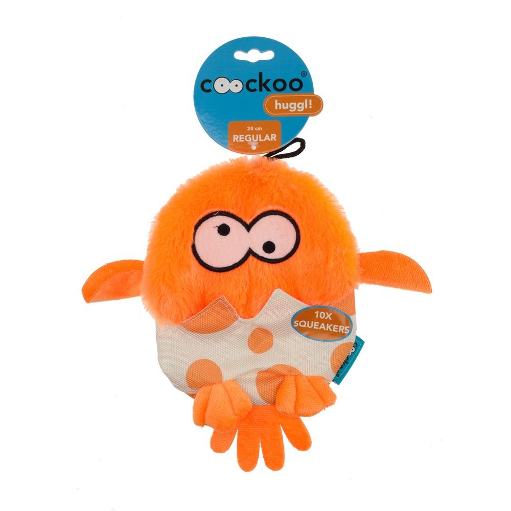 Coockoo Huggl Hundespielzeug mit 10 Quietschern, Bild 4