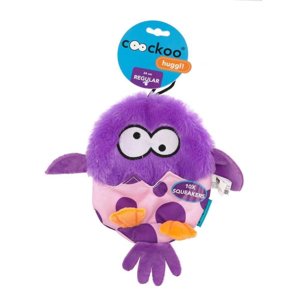 Coockoo Huggl Hundespielzeug mit 10 Quietschern, Bild 5