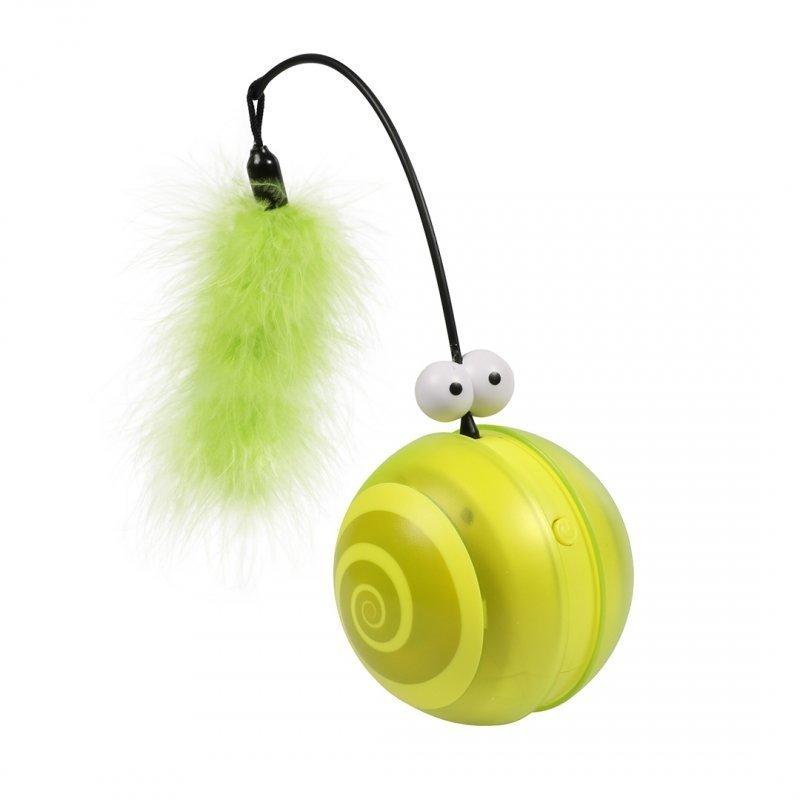 EBI Katzenspielzeug Flip, grün, 12,2 x 12,2 x 13,1 cm