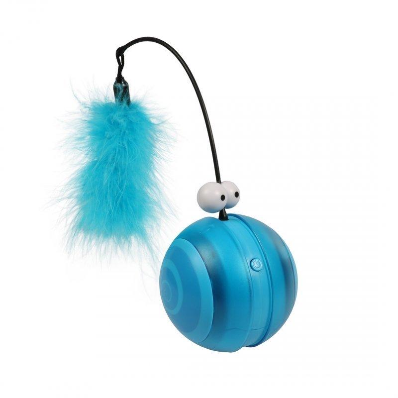 EBI Katzenspielzeug Flip, blau, 12,2 x 12,2 x 13,1 cm