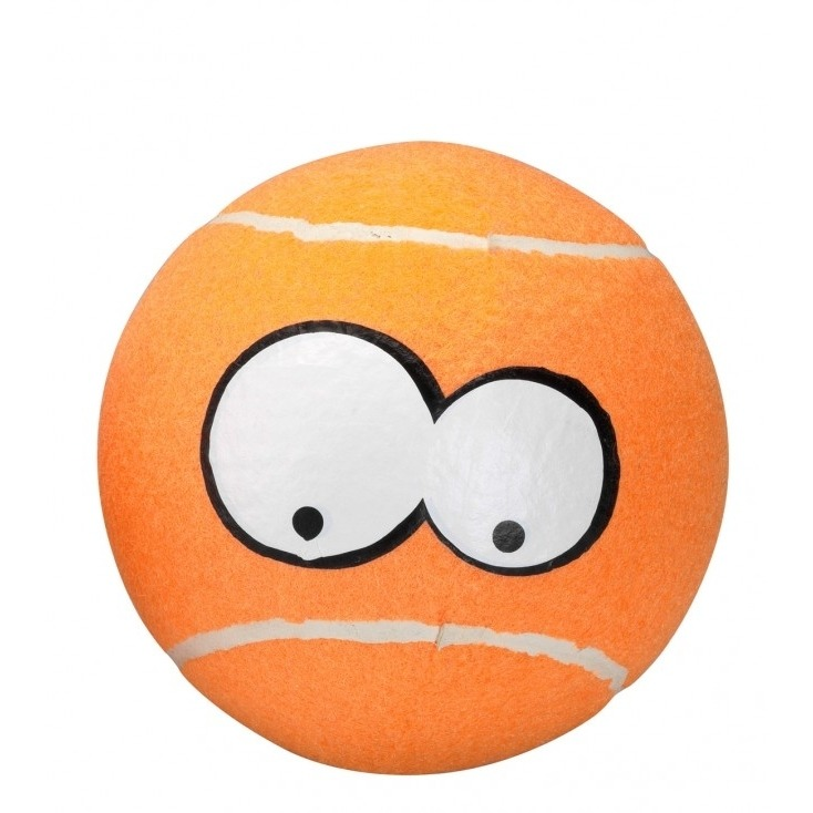 EBI Coockooo Breezy Tennisball Hundespielzeug, Giant, 12,75 cm, orange