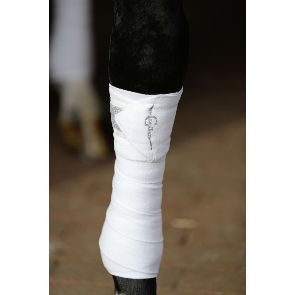Covalliero Fleece Bandage Empara Glitzer, Bild 5