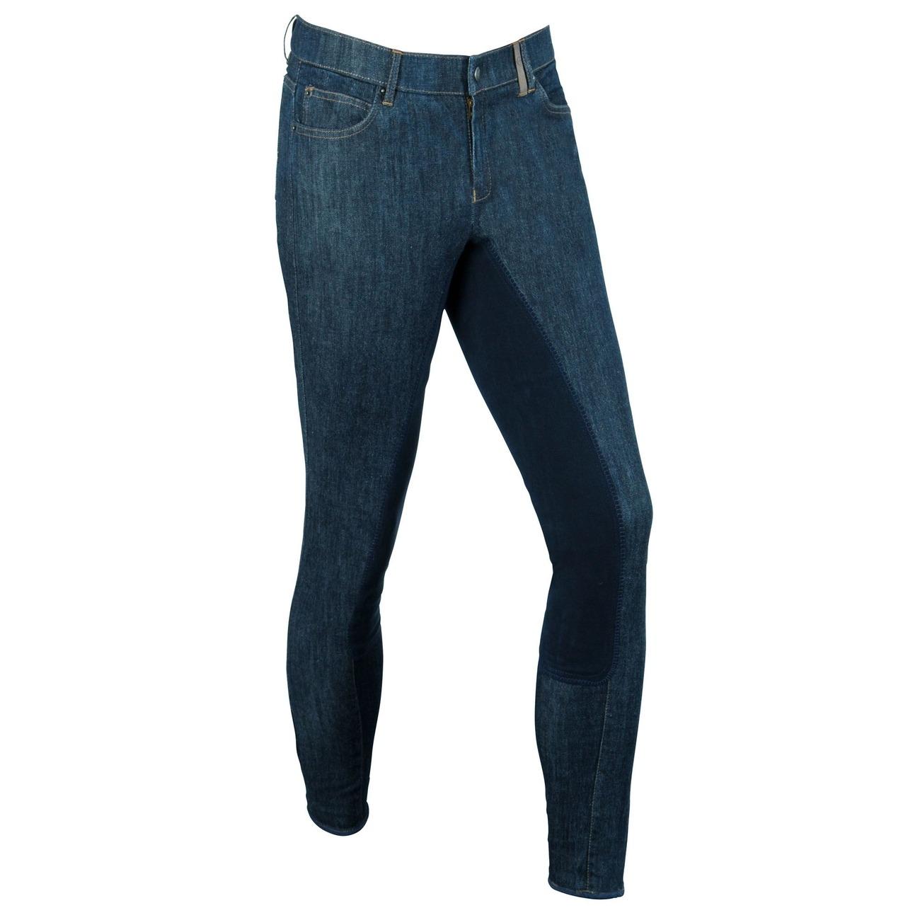 Covalliero Jeans Reithose Denim für Herren, Bild 2