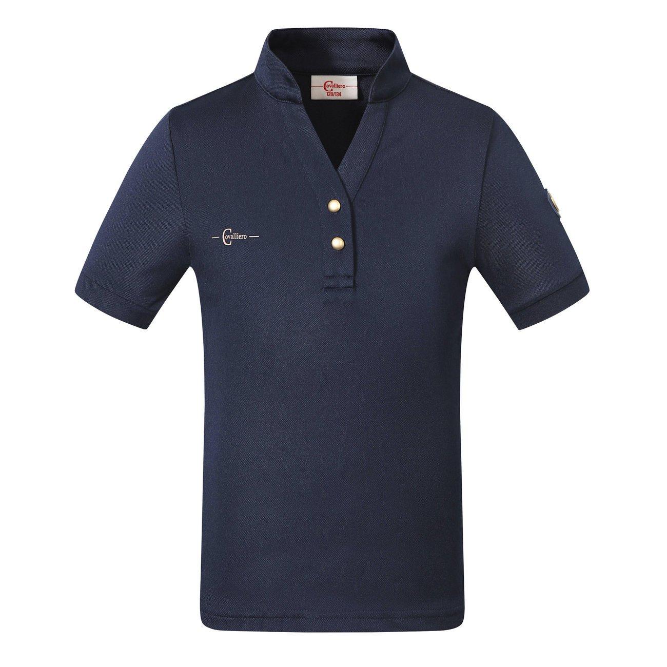 Kerbl Kinder Poloshirt Trendy, Gr. 152/158, navy