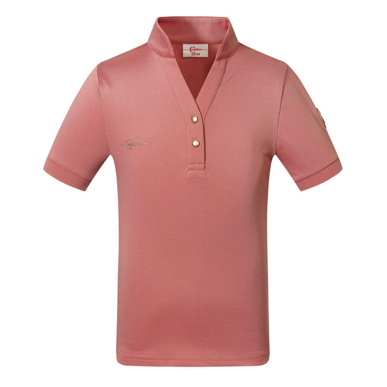 Kerbl Kinder Poloshirt Trendy, Gr. 164/170, rose