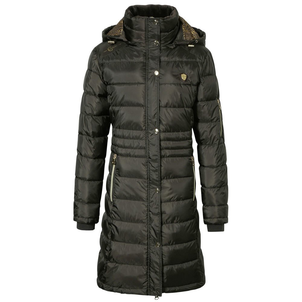 Covalliero Steppmantel für Damen, Gr. XL - dark brown