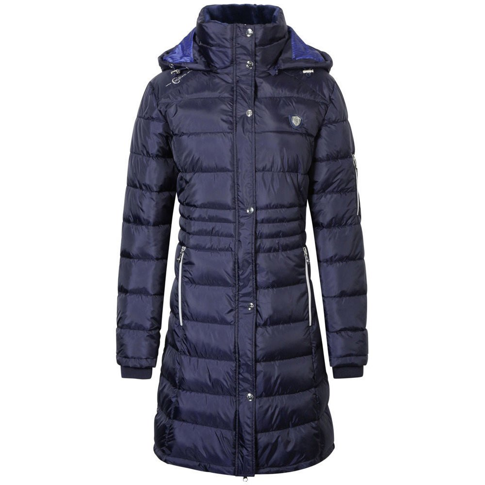 Covalliero Steppmantel für Damen, Gr. M - dark blue