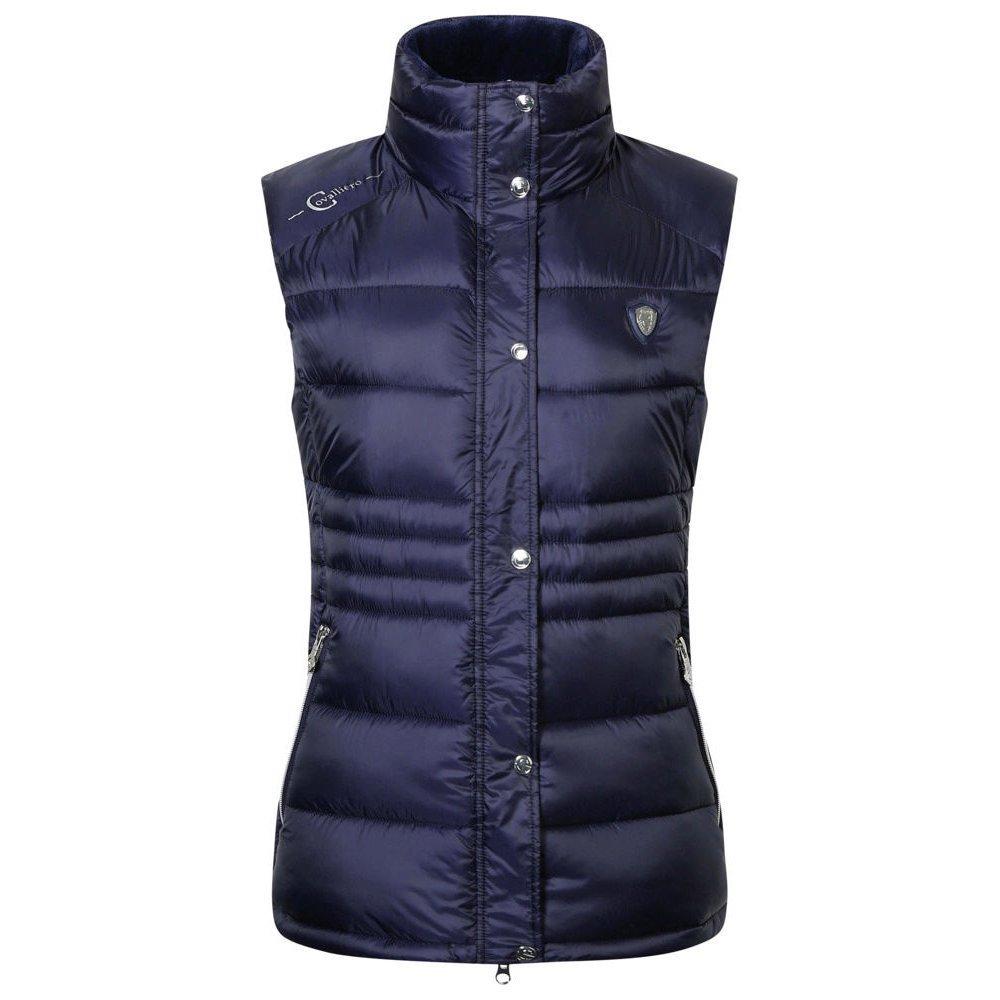 Covalliero Steppweste für Damen, Gr. XL - dark blue